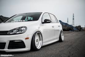 volkswagen thing stance in white yasunobu u0027s usdm style vw golf stancenation