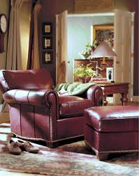 tilt back chair with ottoman leather chairs and ottomans by leathercraft at wellington s