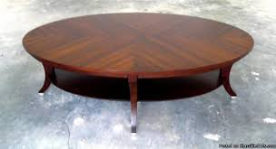 Ethan Allen Coffee Tables Modern Adler Oval Coffee Table From Ethan Allen Price
