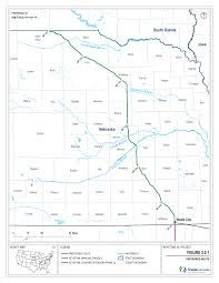Nebraska On A Map Indianz Com U003e Keystone Xl Pipeline Route Crosses Path Of Ponca