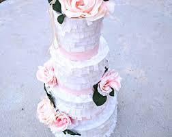 wedding cake pinata wedding pinatas etsy