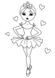 Perfect Ideas Ballet Coloring Pages Ballerina Page Free Printable Ballerina Printable Coloring Pages