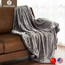 fur throws for sofas naturelife faux fur blanket warm soft fleece blankets throw on sofa