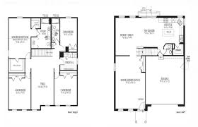 simple house with floor plan home floor plans with formal and informal dining rooms simple