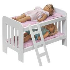 Badger Basket Doll Bunk Beds With Ladder  Target - Dolls bunk bed