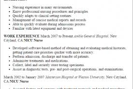 Icu Nurse Resume Example nicu rn resume sample reentrycorps