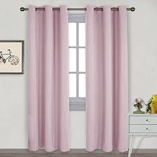 Drapes Grommet Top Amazon Com Nicetown Nursery Essential Thermal Insulated Solid