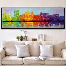 art design fashion promotion shop for promotional art design fashion home design 2016 modern city large canvas wall art decorative acrylic picture abstract oil painting for living room wall