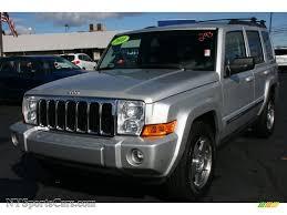 commander jeep 2010 jeep commander sport 4x4 in bright silver metallic 128087