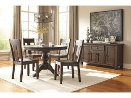 ashley kitchen furniture signature design by ashley trudell 5 piece round dining table set