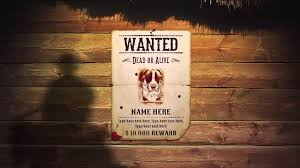 western most wanted poster youtube