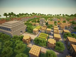 minecraft halloween city village city npc village transformed into a big city maps