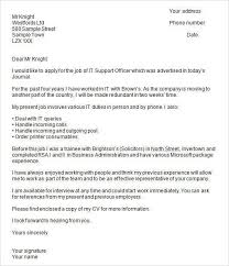 job application cover letter template uk employment application