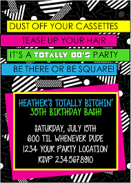 1980 u0027s 40th birthday party invitations expertly printed on