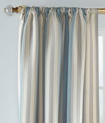 Cape Cod Curtains Cape Cod Stripe Rod Pocket Curtains Pair Country Curtains