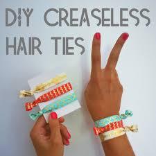 creaseless hair ties diy creaseless hair ties and violet