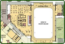 Fitness Center Floor Plans University Of Hawaii At Manoa Campus Center