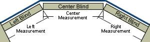 Measuring Window Blinds Measuring Window Blinds For Bay Windows Blinds Chalet