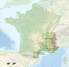 Provence France Map Map Of Eastern France In 1792 Southern France Map Recana Masana