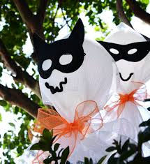 party ideas by mardi gras outlet diy halloween ghosts made with
