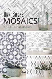kiss boring walls goodbye with ann sacks mosaics stone tile