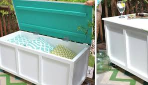 Window Seat Storage Bench Diy by Bedroom Awesome 7 Cool And Functional Diy Outdoor Storage Benches