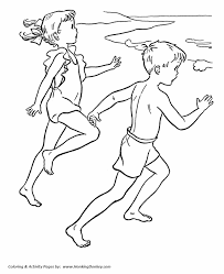 july 4th coloring pages seaside fun coloring sheets