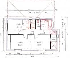 plan de maison a etage 5 chambres plan de maison en longueur plan maison plain pied 5 chambres