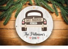 15 best newlywed newly engaged christmas ornaments images on