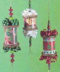 save those spools recycle them into thread spool christmas