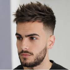 fedi hairstyle men s spiky textured undercut with low fade