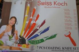 swiss koch kitchen collection swiss koch kitchen collection 7 pcs coating knife set for sale in