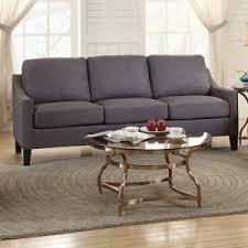 Gray Modern Sofa Contemporary Modern Sofas Hayneedle