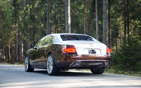 bentley flying spur 2007 mansory flying spur based on bentley continental news