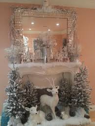 fireplace christmas decorating ideas home design inspirations