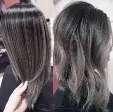 gray silver black granny trending hair hairstyles pinterest
