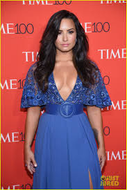 demi lovato gets honored as one of time u0027s 100 most influential