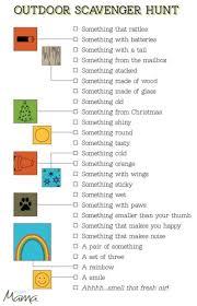 Backyard Scavenger Hunt Ideas 273 Best Scavenger Hunts Bingo Images On Pinterest Activities