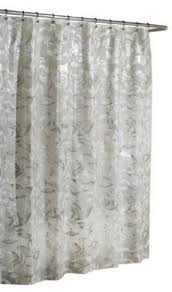 Vinyl Shower Curtain Excell Home Fashions Vinyl Shower Curtain Foter