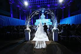 wedding arch nyc winter wedding at capitale nyc mazelmoments