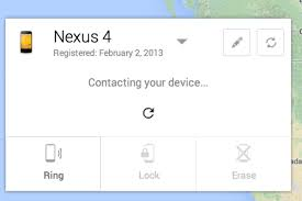 android device manager adds remote lock and password reset features to android