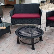 Hiland Patio Heater Instructions by Az Patio Heaters Wood Burning Fire Pit With Cooking Grate