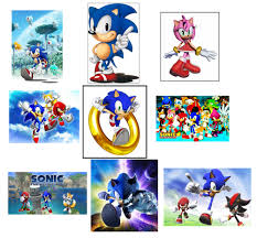sonic the hedgehog party supplies 9 sonic the hedgehog stickers party supplies favors gifts labels
