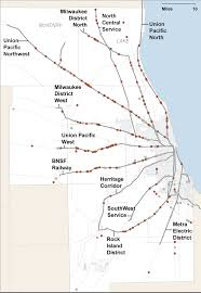 Map Of Chicago Suburbs Analysis Of Train Pedestrian Deaths In Chicago Area Infographic