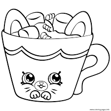 petkins season four shopkins season 4 coloring pages free