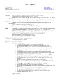 Best Resume Program Controls Engineer Resume Resume For Your Job Application