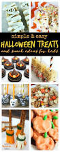 Simple Halloween Treat Recipes 21 Easy Halloween Party Food Ideas For Kids Passion For Savings