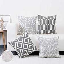 Cushions Covers For Sofa Amazon Com Hwy 50 Couch Pillows Covers 18 X 18 Inch Cotton