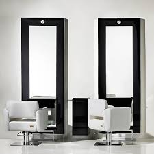 salon mirrors with lights hair salon chairs