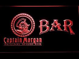 captain morgan neon bar light captain morgan original bar led neon sign bar led captain morgan